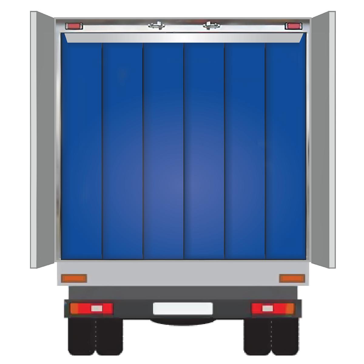 Разделяют пространство фургона на разные температурные режимы